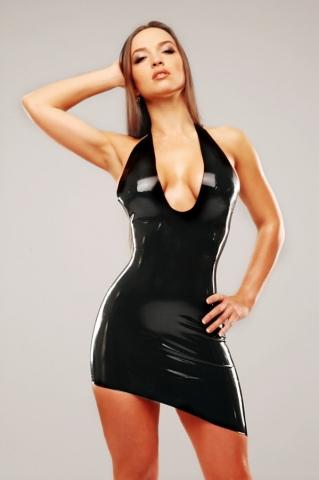 6550 - Vestido Costa Aberta